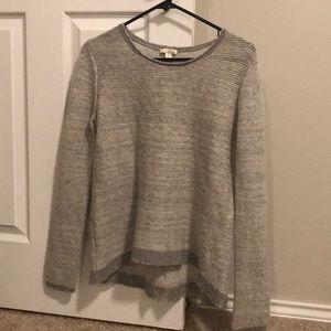 Gap sweater medium gray